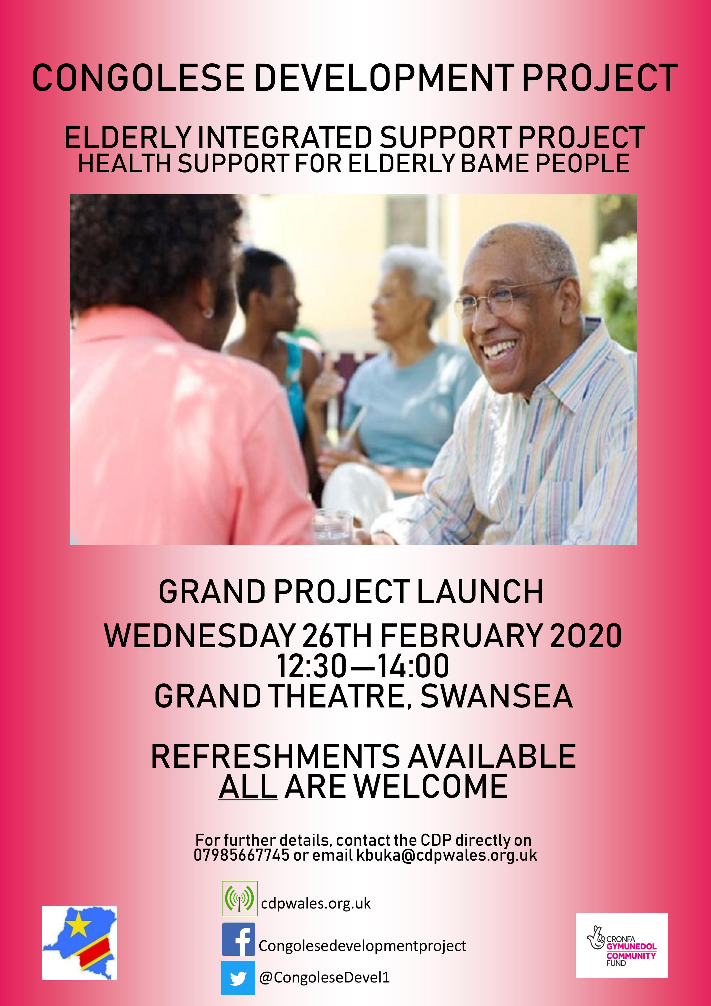 Health Support For Elderly BAME People
