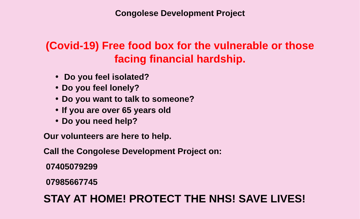 Covid 19 poster community foundation pdf